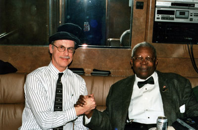 BB King and Dr. Dean Alger